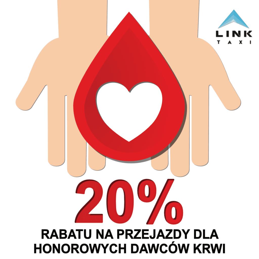 rabat dla dawców krwi